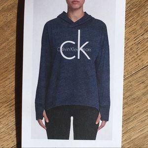 Calvin Klein Jeans Tops - Calvin Klein Jeans Relaxed Boyfriend Hoodie